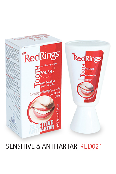 REDRINGS TOOTH POLISH SENSITIVE & ANTITARTAR 90gr.