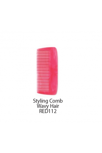 REDRINGS STYLING COMB WAVY HAIR