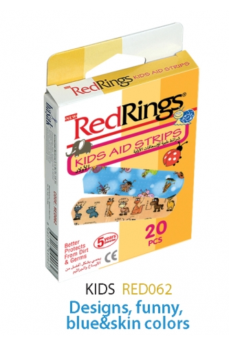 REDRINGS FIRST AID STRIPS FOR KIDS 20 PCS