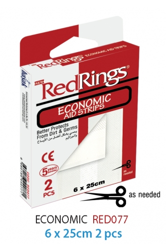 REDRINGS FIRST AID STRIPS ECONOMIC 2 PCS