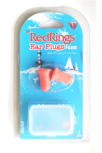 REDRINGS EAR PLUGS FOAM 2 PCS