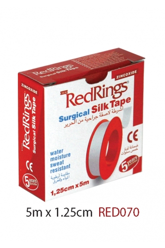 REDRINGS SURGICAL SILK TAPE 5m x 1,25cm