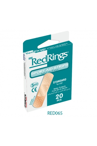 REDRINGS FIRST AID STRIPS STANDARD 20 PCS