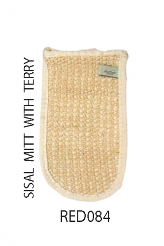 REDRINGS SISAL MITT WITH TERRY