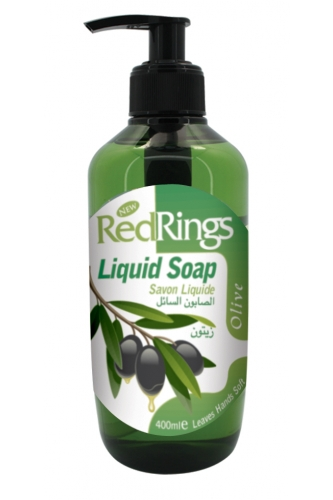 REDRINGS LIQUID SOAP OLIVE 400ML. RED168