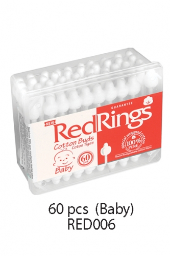REDRINGS COTTON BUDS 60 PCS FOR BABY